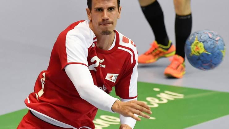 Andy Schmid führt das Schweizer Handball-Team an