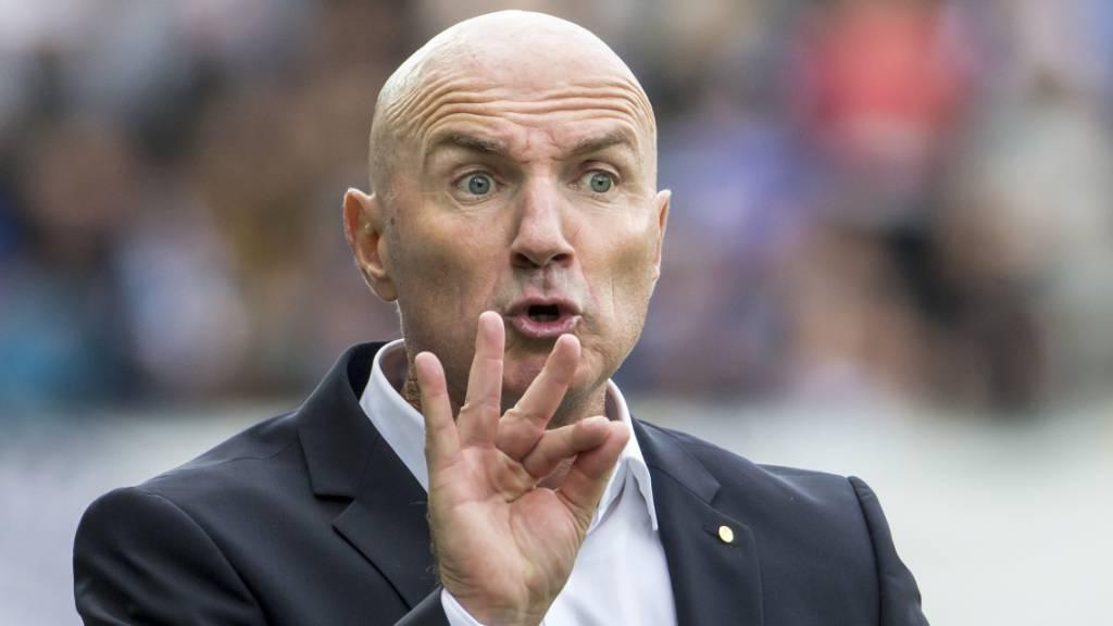Carlos Berneggers Debüt als Trainer des FC Thun ist geglückt.