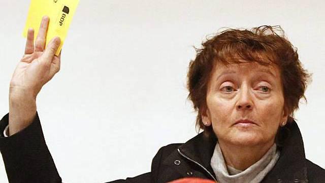 Eveline Widmer-Schlumpf an der BDP-Delegiertenversammlung