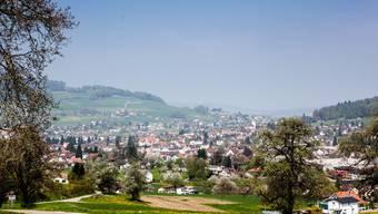 Blick auf die Gemeinde Reinach