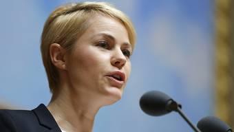 SVP-Nationalrätin und Medienpolitikerin Natalie Rickli. (Archiv).