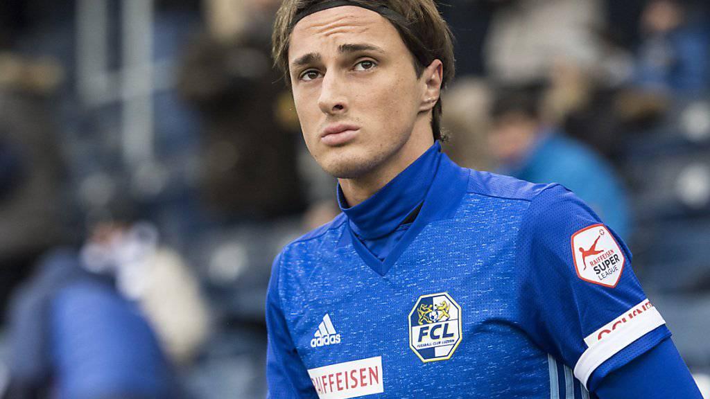 Hekuran Kryeziu spielte zuletzt beim FC Luzern