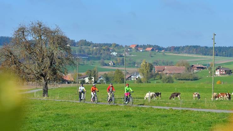 In zwei Monaten startet die «Herzschlaufe Seetal», die touristische E-Bike-Route zwischen Eschenbach und Lenzburg.