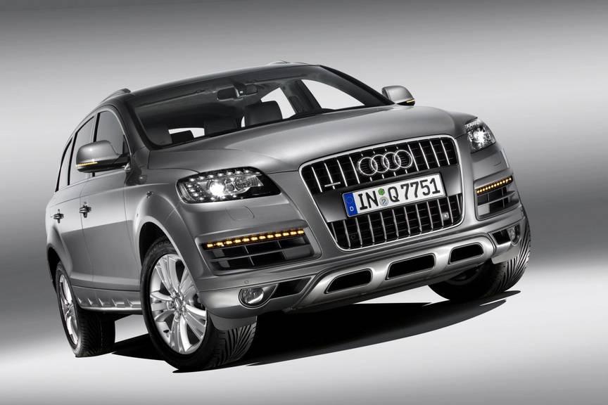 Ein Audi Q7 wurde für den Diebstahlversuch verwendet.