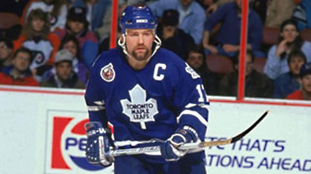 1985: Wendel Clark, Stürmer, Toronto Maple Leafs