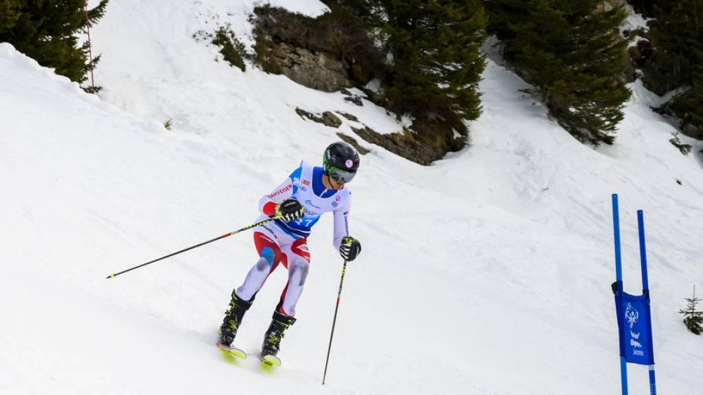 Auch im alpinen Skifahren kämpfen die Athletinnen und Athleten um Medaillen.