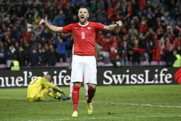 15. Oktober 2019, Schweiz-Irland 2:0