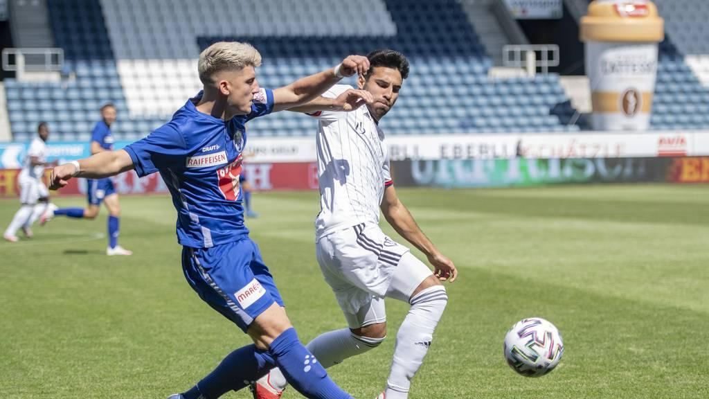 Luzern gewinnt gegen Basel mit 2:1