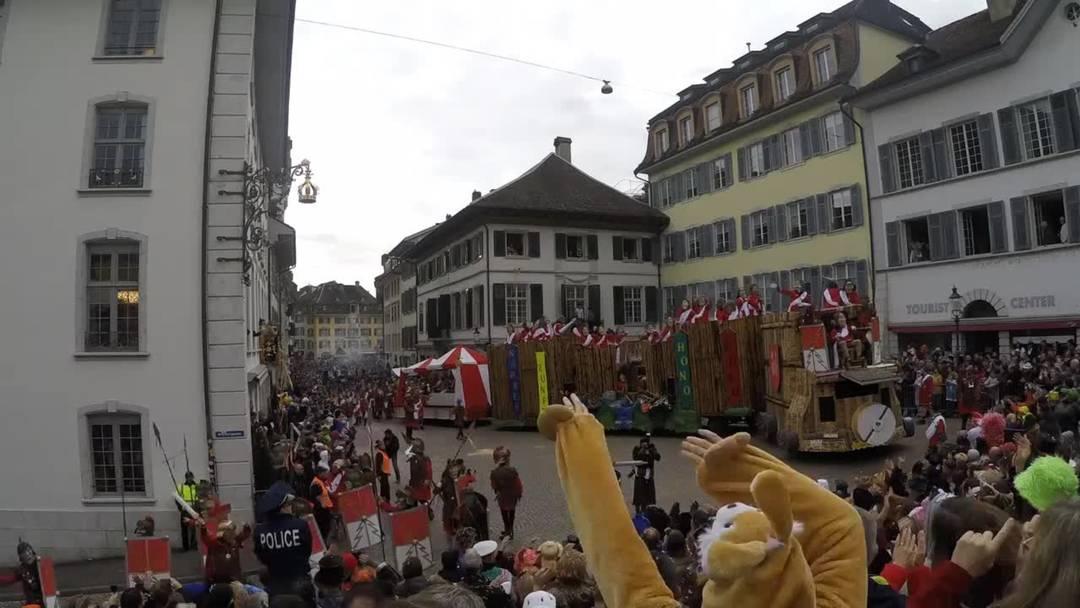 Der Solothurner Fasnachtsumzug 2020 im Zeitraffer