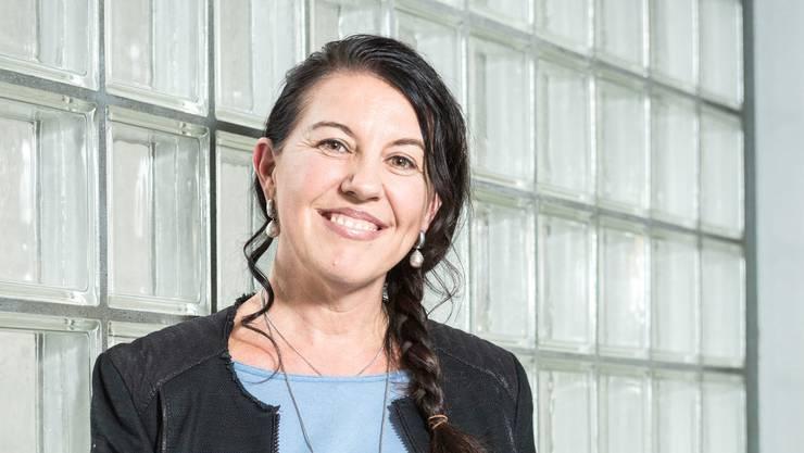 Beatrice Räber (50) fühlt sich als gebürtige Wohlerin in Suhr wohl.