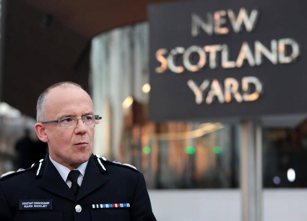 Terrorabwehrchefs des Scotland Yard Mark Rowley (© EPA/Andy Rain)