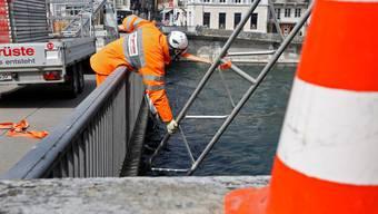 Baustelle Wengibrücke