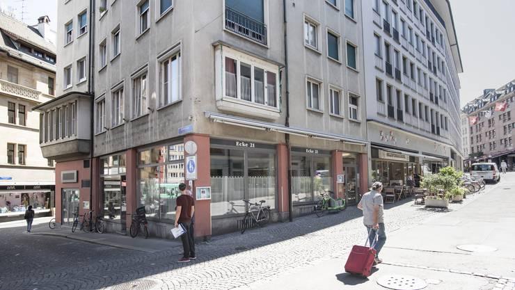 Da tut sich nichts: Vor zwei Jahren schloss das Restaurant «Ecke 21».