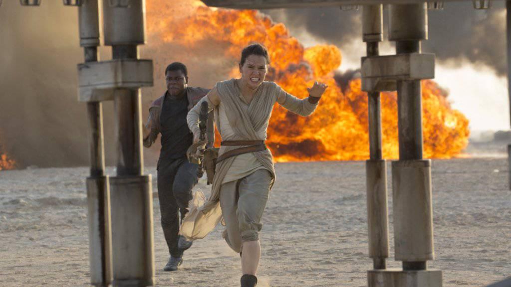 """Schauspielerin Daisy Ridley spielt in der neusten """"Star Wars""""-Folge die weibliche Hauptrolle der Rey."""