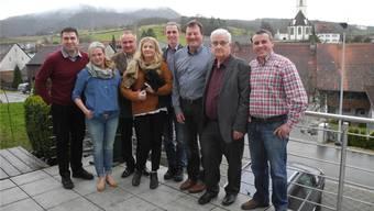 In Herznach waren neben dem Ehepaar Habalau auch Vertreter der ICA zu Gast.