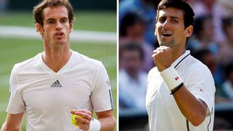 Djokovic und Murray schlagen sich in den Final durch