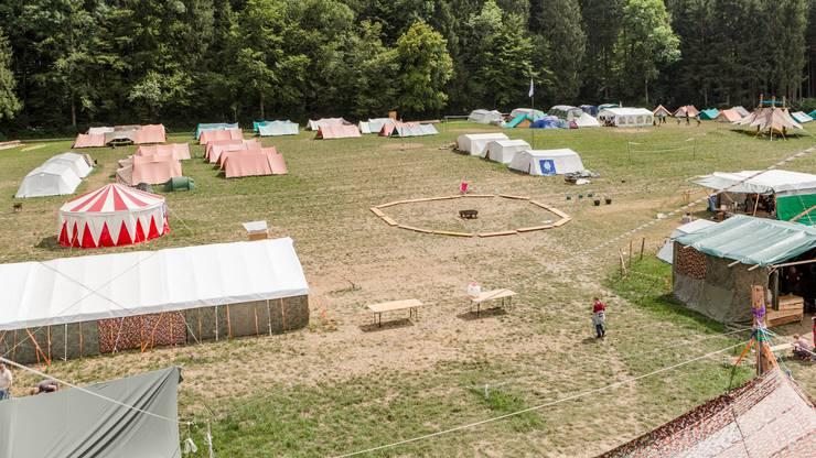 Die Suche nach einem passenden Gelände führte die Organisatoren nach Aesch ZH.