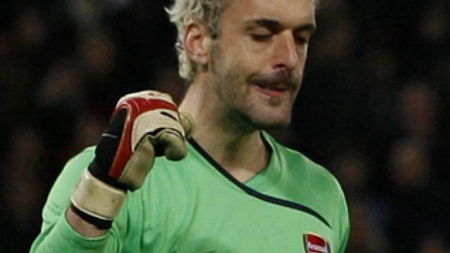 Arsenal-Goalie Manuel Almunia