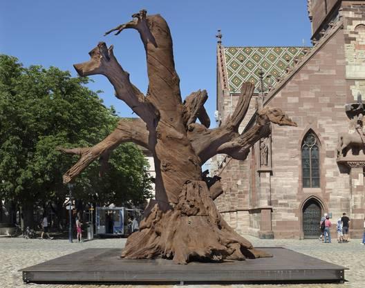 Der eiserne Baum von Ai Weiwei.