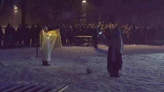 Maria und Josef in Bern-Betlehem