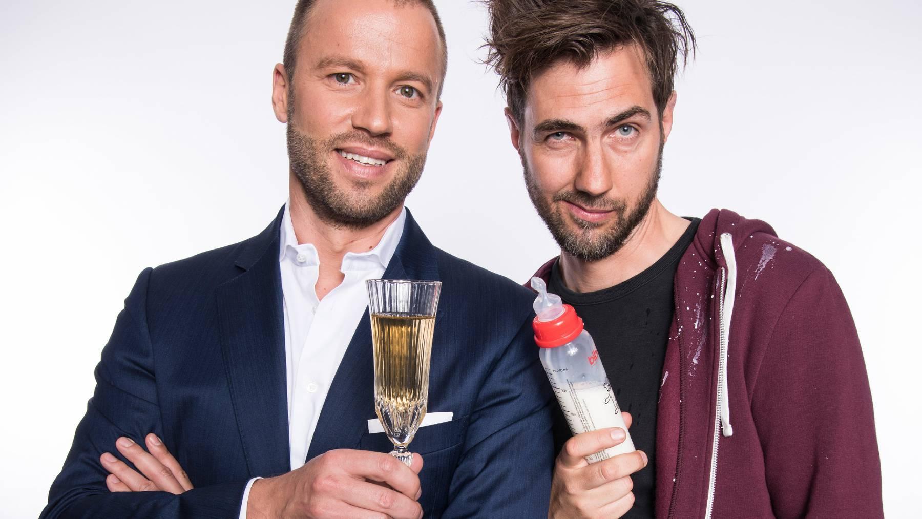Jonny Fischer und Manuel Burkart bilden das Cabaret Divertimento.