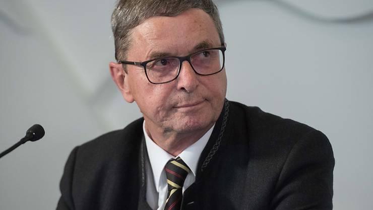 Bruno Gehrig, Leiter der unabhängigen Untersuchung bei Raiffeisen, hat zwar keine Nachweise eines strafrechtlich relevanten Verhaltens bei der Bankengruppe gefunden, wohl aber gravierende Mängel. (Archiv)