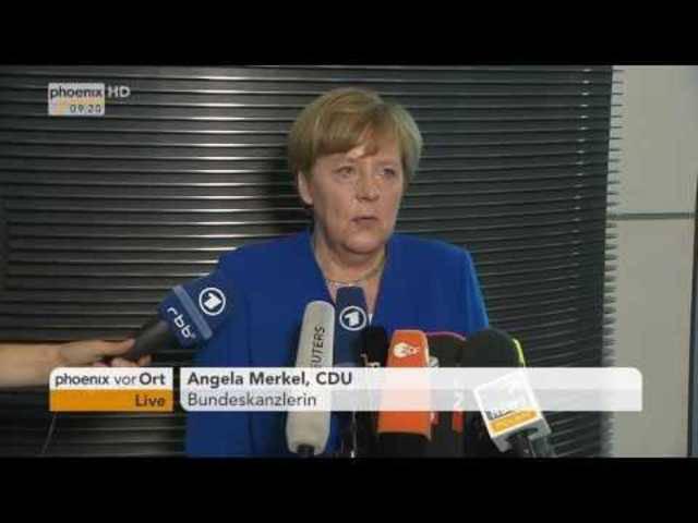 Ehe für alle: Das Statement von Angela Merkel nach der Abstimmung