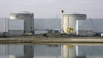 Das elsässische Atomkraftwerk Fessenheim besteht aus zwei Blöcken und ist seit 1977 in Betrieb.