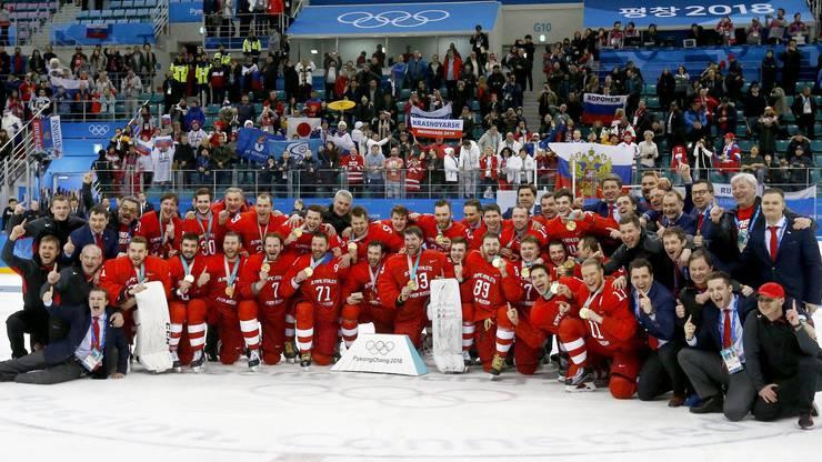 Die olympischen Athleten aus Russland