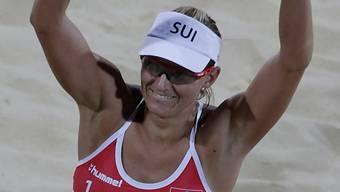 Simone Kuhn: Rücktritt nach zwölf Jahren Beachvolleyball-Karriere.