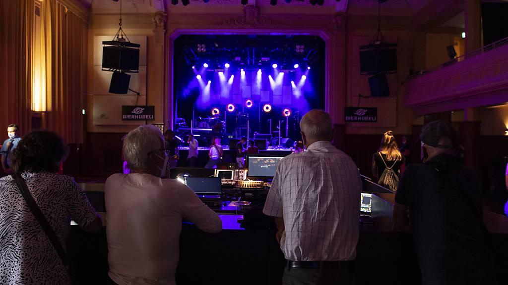 Wieder Konzert-Feeling - Corona-Testkonzert mit Patent Ochsner