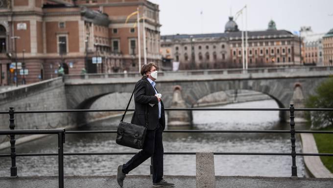 Schweden verzichtete anders als viele europäische Länder bisher auf einen Lockdown (Stockholm, 27. April).