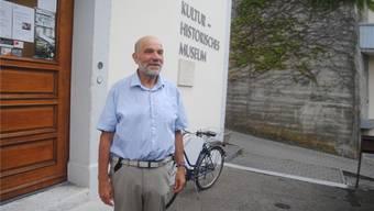 Martin Illi referierte im Museum locker und unterhaltsam.