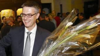 Im dritten Wahlgang siegreich: CVP-Kandidat Pierre-Arnauld Fueg