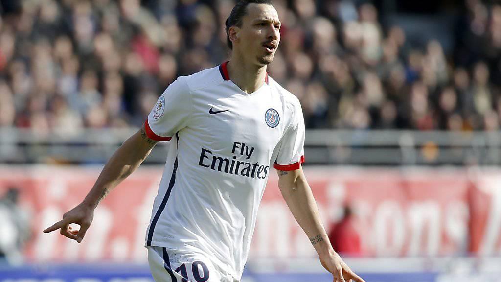 Jubelt Zlatan Ibrahimovic bald nicht mehr in Frankreich?