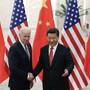 2013 in Peking haben sich der damalige US-Vizepräsident Joe Biden und Chinas Regierungschef Xi Jinping bestens verstanden.