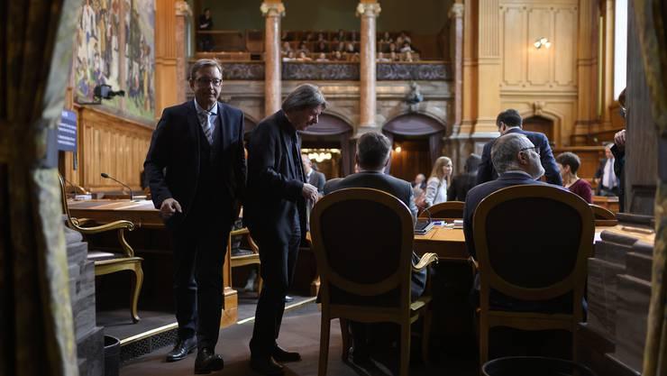 Der Ständerat hat entschieden: er ist für Überbrückungsleistungen für ältere Arbeitslose.