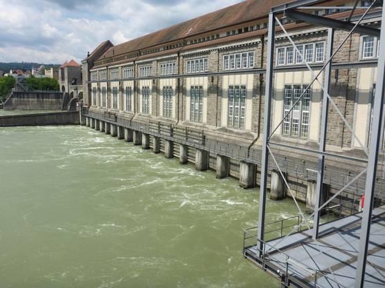 Auch architektonisch beeindruckend ist das Kraftwerk Laufenburg.