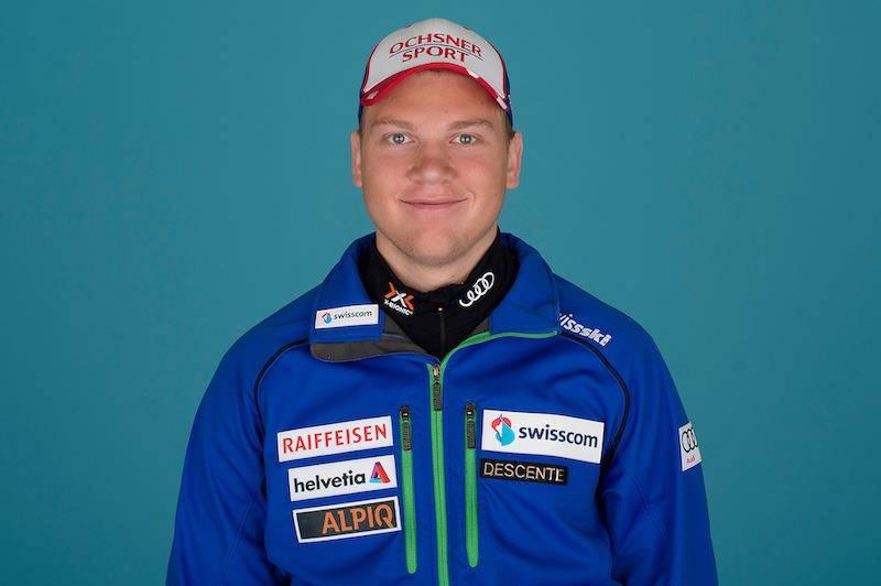 Niels Hintermann mit 19 Jahren: Er gewann am 13. März 2015 die Bronze-Medaille in der Junioren WM in der Abfahrt.
