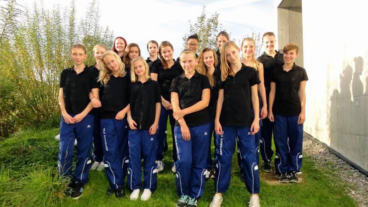 Grils von der Gruppe Teen's Gym vom Verein TSV Rohrdorf.