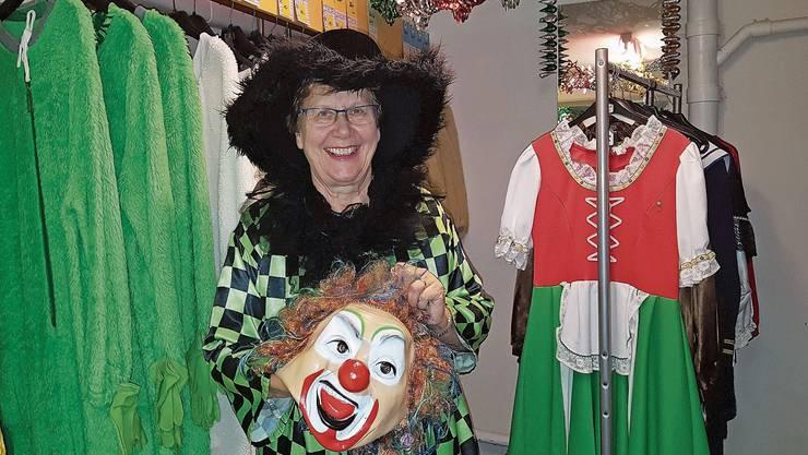 «Den Kontakt zu Kunden schätzte ich sehr», sagt Margrit Vögeli vom Fasnachtskostümverleih in Schwaderloch.