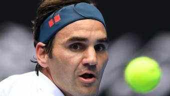 Fokus nach vorne: Roger Federer steht am Australian Open in der 3. Runde
