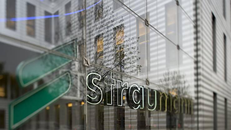Straumann ist zuversichtlich für den Rest des Jahres und erhöht die Umsatzprognose für das Geschäftsjahr 2018.