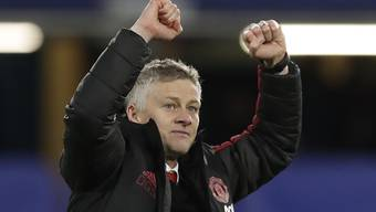 Ole Gunnar Solskjaer darf mit Manchester United wieder jubeln