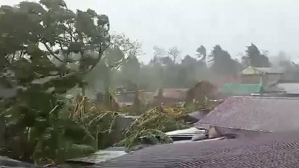 Mindestens vier Tote durch Taifun auf den Philippinen