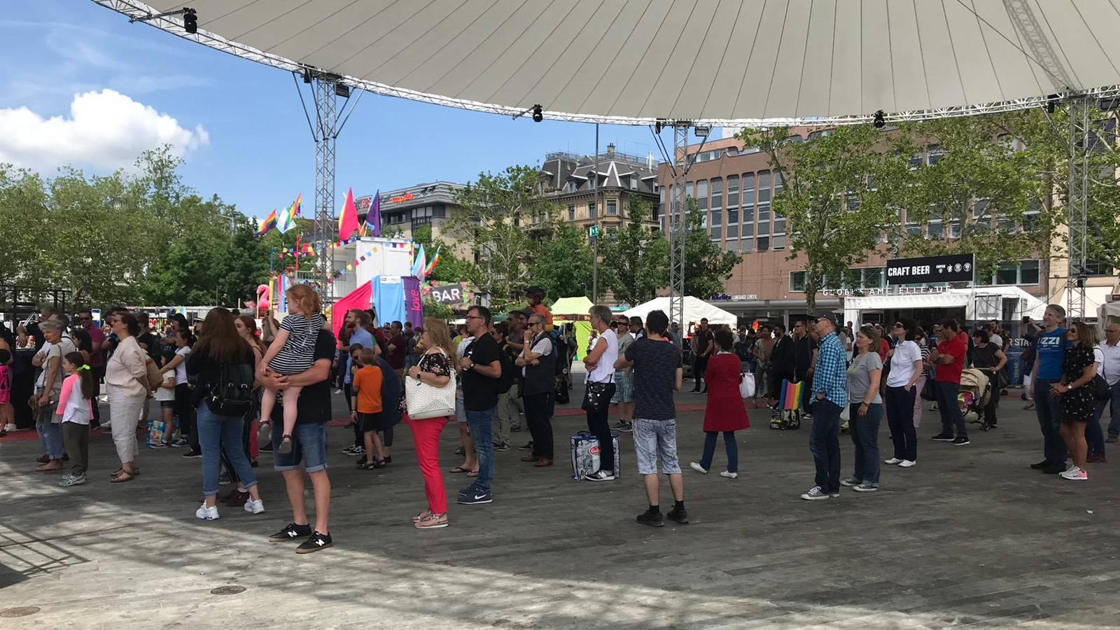 Zürich Pride (© Radio 24)