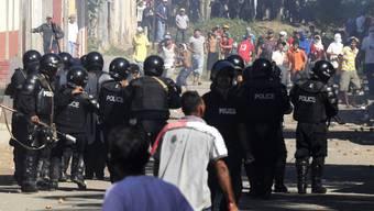 In Nicaragua ist es zu schweren Ausschreitungen gekommen