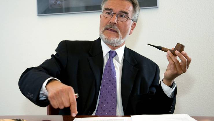 «Er wollte aus der Intensivstation raus und das Ganze stoppen»: Daniel Zuberbühler, Ex-Direktor der Bankenaufsicht (auf einem Bild von 2007).
