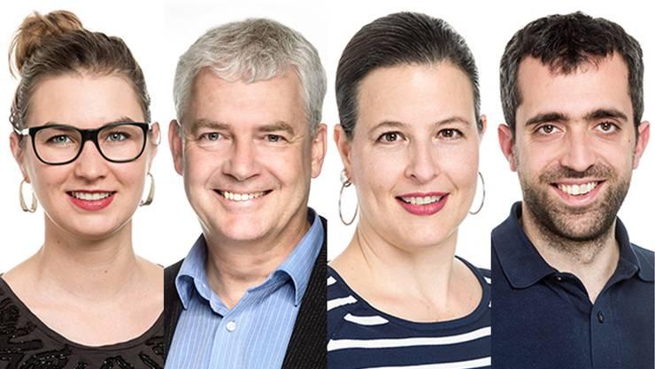 Anna Engeler, Felix Wettstein, Myriam Frey Schär und Raphael Schär.