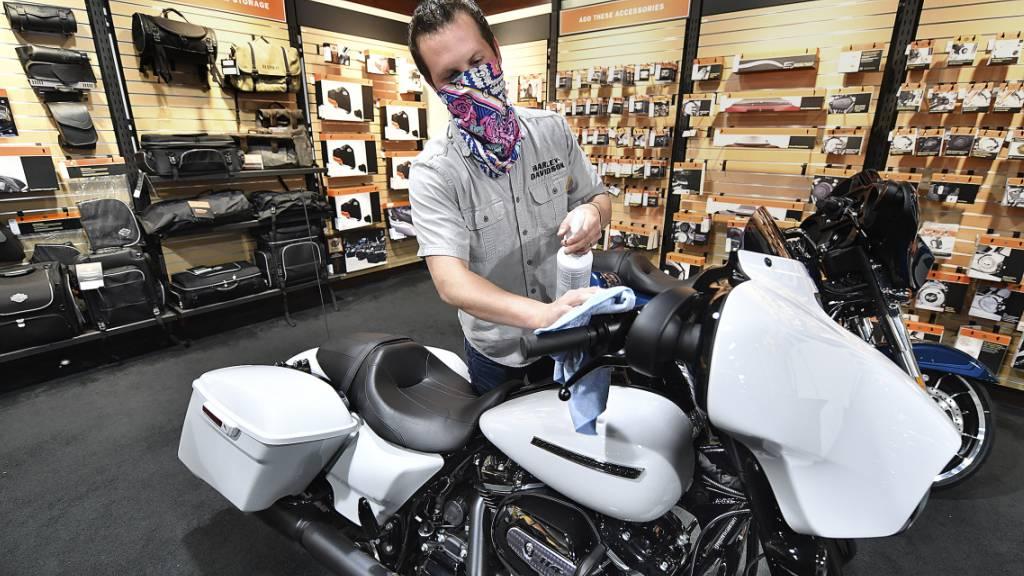 Harley-Davidson fährt in die roten Zahlen